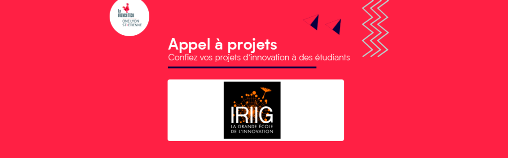 [AAP] - IRIIG : confiez vos projets d'innovation