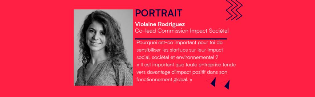 [PORTRAIT] Violaine Rodriguez, co-lead commission Impact Sociétal